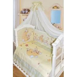 Комплект в кроватку Золотой Гусь Овечки на луне 7 предметов