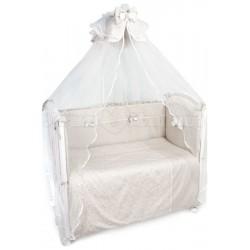 Комплект в кроватку Сонный гномик Версаль 7 предметов сатин