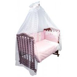 Комплект в кроватку Сонный гномик Прованс 7 предметов сатин