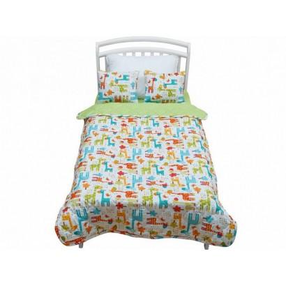 Покрывало с подушками на подростковую кровать Giovanni Safari Kids