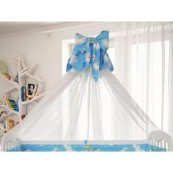 Балдахин для детской кроватки Polini Мишки
