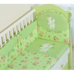 Бампер для детской кроватки Селена 25.411 бязь