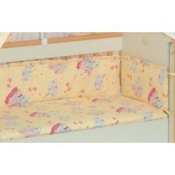 Бампер для детской кроватки Селена 30.1 бязь