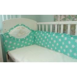 Бампер в детскую кроватку Селена 30.3 бязь