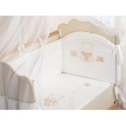 Бампер для детской кроватки Селена 95.11 сатин