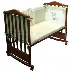 Бампер в детскую кроватку Сонный гномик Пикник