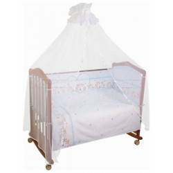 Бампер в детскую кроватку Сонный гномик Оленята