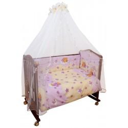 Бампер в детскую кроватку Сонный гномик Мишкин сон