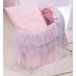 Комплект белья для новорожденного в люльку из лозы Селена 60.1