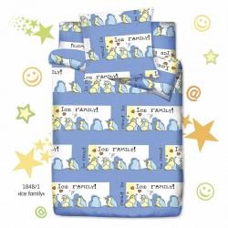 Комплект постельного белья для дошкольника 3 предмета Монис стиль Ice Family