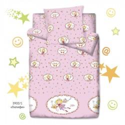 Подростковый комплект постельного белья для девочки Монис стиль Лилифи