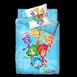 Комплект постельного белья для подростка Монис стиль Фиксики Друзья