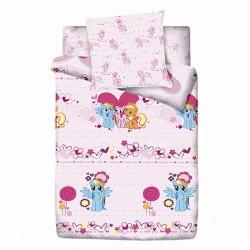 Набор детского постельного белья 3 предмета Монис стиль MyLittlePony