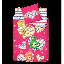 Постельное бельё для девочки 3 предмета Монис стиль Фиксики Love