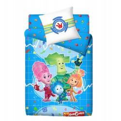 Комплект постельного белья для ребёнка Монис стиль Фиксики Физика