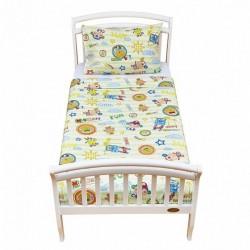 Комплект постели для подростковой кроватки 2 предметаGiovanniMonkey(коллекцияShapito)