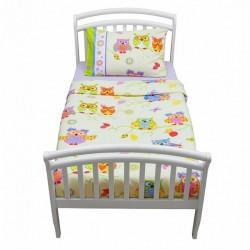 Сменное постельное бельё из двух предметов для дошкольникаGiovanniOwls(Shapito)
