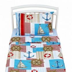 Сменное постельное бельё из двух предметов для дошкольникаGiovanniCaptain(Shapito)