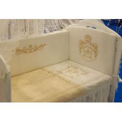 Комплект в детскую кроватку 3 предмета Селена «Императорский 77» АРТ. - 77.12