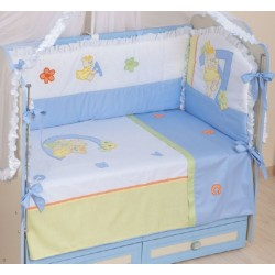 Комплект детского постельного белья Селена 86.12 Азбука 3 предмета сатин