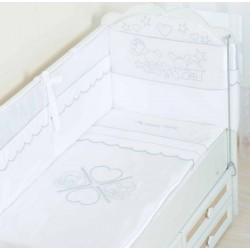 Комплект детского постельного белья Селена 81.12 Друзья 3 предмета сатин
