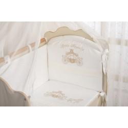 Комплект детского постельного белья Селена 98.12 Маленькое высочество 3 предмета сатин