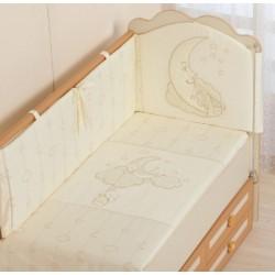 Комплект детского постельного белья Селена 87.12 Облачка 3 предмета сатин