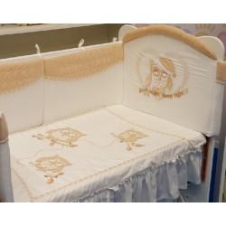 Комплект детского постельного белья Селена 122.12 Совята сатин