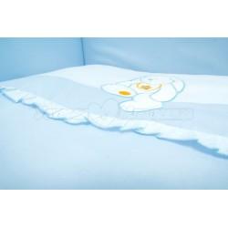 Комплект постельного белья 3 предмета Сонный гномик Пушистик сатин