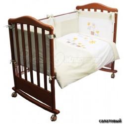 Комплект детского постельного белья Сонный гномик Пикник 3 предмета сатин