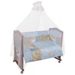 Комплект детского постельного белья Сонный гномик Лежебоки 3 предмета бязь