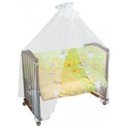 Комплект постельного белья 3 предмета Сонный гномик Сыроежкины сны бязь