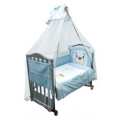 Комплект детского постельного белья Сонный гномик Умка 3 предмета бязь