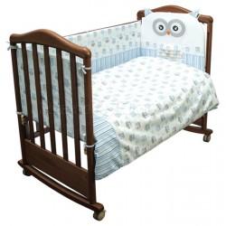 Комплект в кроватку Сонный гномик Софушки 6 предметов бязь