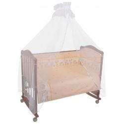 Комплект в кроватку Сонный гномик Оленята 6 предметов бязь