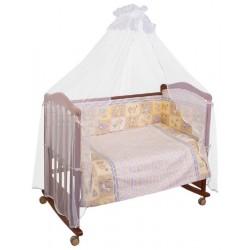 Комплект в кроватку Сонный гномик Считалочка 6 предметов бязь