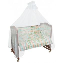 Комплект в кроватку Сонный гномик Топтыжки 6 предметов бязь
