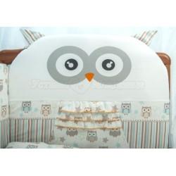 Комплект в кроватку Сонный гномик Софушки 7 предметов бязь