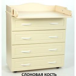 Пеленальный комод Ведрусс Мишка-1
