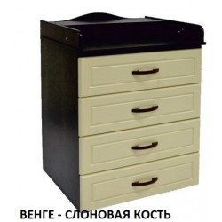 Пеленальный комод Ведрусс Мишка-4