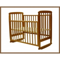 Детская кроватка для новорожденного Соня-02  качалка+ колёса