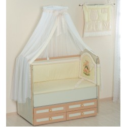 """Комплект в кроватку из 10 предметов Селена """"Малышок"""""""