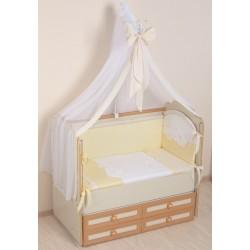 """Комплект в кроватку из 8 предметов Селена """"Ангел"""" 3D"""