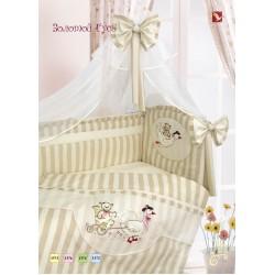 Комплект в кроватку Золотой гусь Золотой гусь 11 предметов