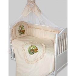 Комплект в кроватку Золотой гусь Алёнка 8 предметов