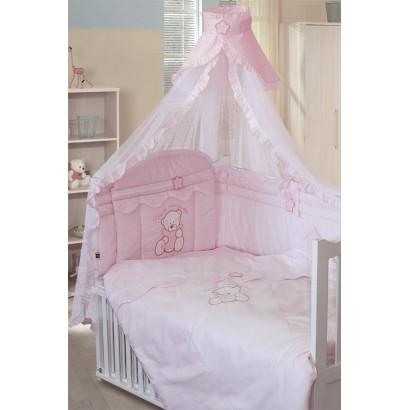 Комплект в кроватку Золотой гусь Сабина 8 предметов