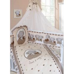 Комплект в кроватку Золотой гусь Слоник Боня 8 предметов