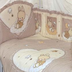 Комплект в кроватку Золотой гусь Степашка 8 предметов