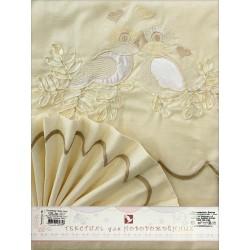Комплект постельного белья Золотой гусь Птенчики 3 предмета