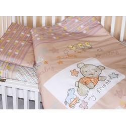 Комплект постельного белья Золотой гусь Zoo Bear 3 предмета